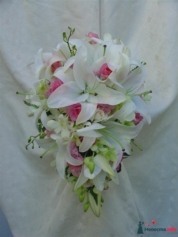 Фото 111490 в коллекции Любимые лилии - свадебные букетики - kosca