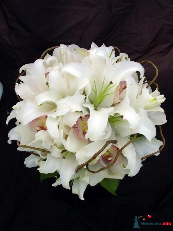 Фото 111498 в коллекции Любимые лилии - свадебные букетики - kosca