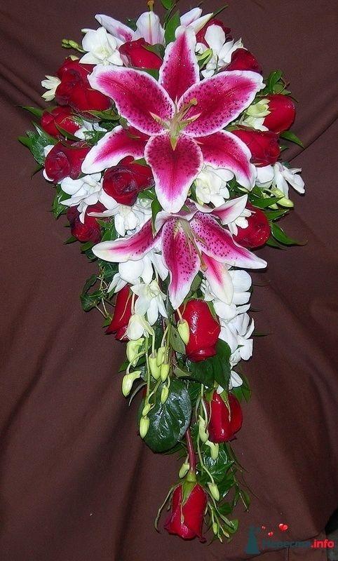 Фото 115317 в коллекции Любимые лилии - свадебные букетики - kosca