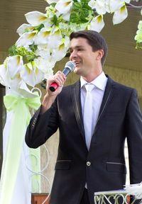 Выездные церемонии - мой конек-горбунок :) - фото 762837 Ведущий Григорий Разумовский