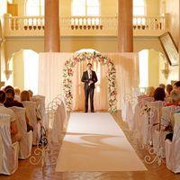 Церемония бракосочетания во дворце