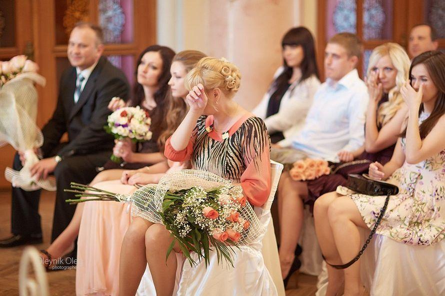 Эмоции гостей на церемонии бракосочетания - фото 3603375 Ведущий Григорий Разумовский