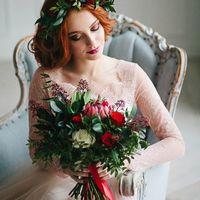 Прическа и макияж  Цветочная лавка Fiorellino  Кондитер Лия  Платье Свадебная мастерская Пион  Модель Алиса Казакова