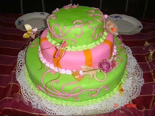 Фото 784653 в коллекции Свадебный торт- красивый десерт любого торжества!!! - Идеальная Свадьба - свадебное агентство