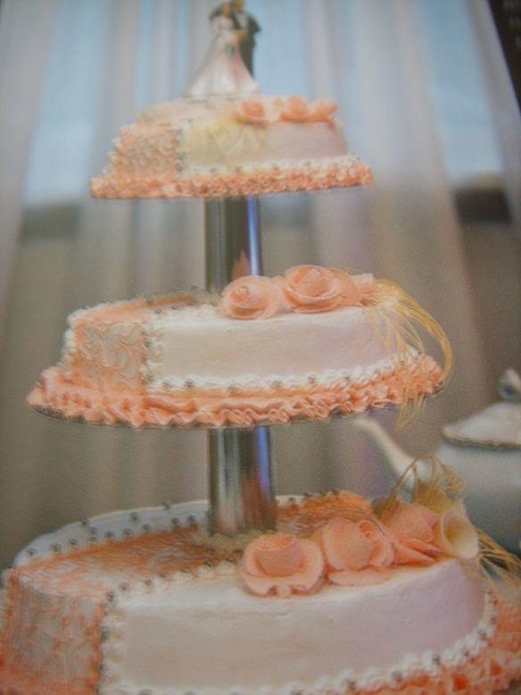Фото 784701 в коллекции Свадебный торт- красивый десерт любого торжества!!! - Идеальная Свадьба - свадебное агентство