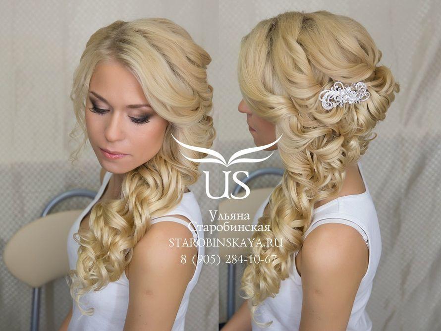 Прическа и макияж для невест 57