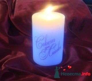 Свеча радужная - фото 94975 помошь невестам