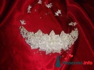 Цветы в голову Стразы - фото 94984 помошь невестам