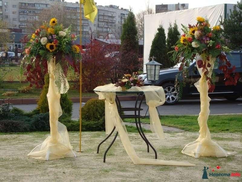 Фото 105054 в коллекции Декор свадебной церемонии. - Флорист-декоратор Янина Венгерова