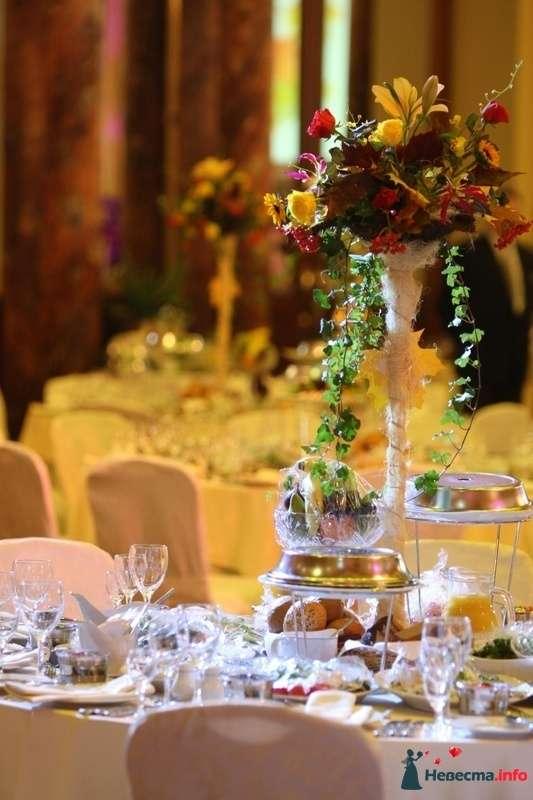 Фото 97267 в коллекции Звёздная свадьба. Ресторан Метрополь - Флорист-декоратор Янина Венгерова