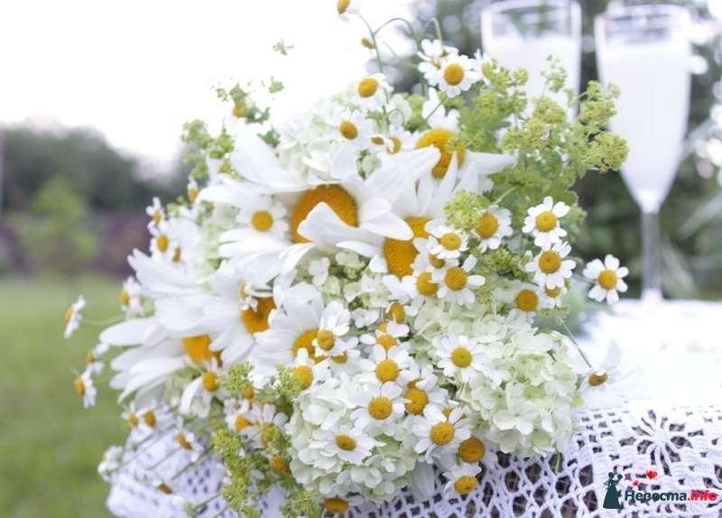 букет невесты из ромашек - фото 107192 Флорист-декоратор Янина Венгерова