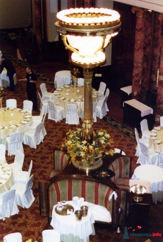 Фото 107402 в коллекции Звёздная свадьба. Ресторан Метрополь - Флорист-декоратор Янина Венгерова