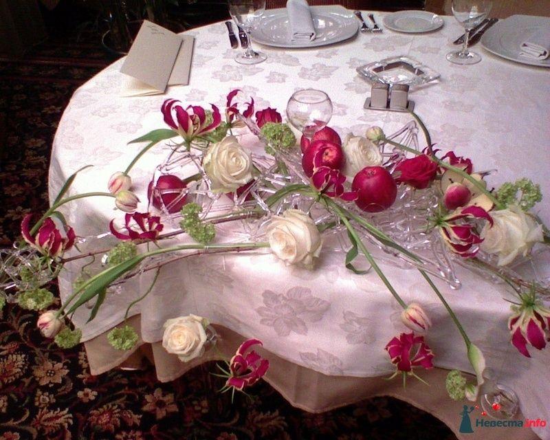 Фото 108611 в коллекции варианты оформления президиума. - Флорист-декоратор Янина Венгерова
