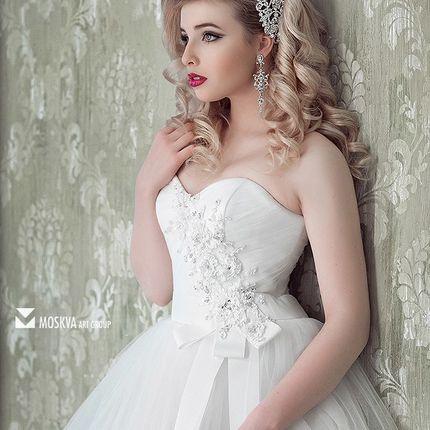 Образ невесты прическа, макияж и репетиция