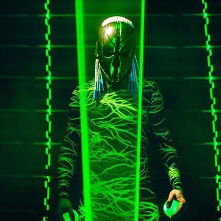 LaserMan - лазерное шоу, 7 минут