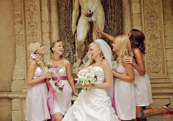 Невеста и подружки в нежно-розовом - фото 107754 bogunia