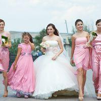Розовая свадьба!
