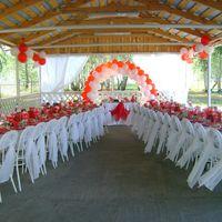 Как украсить беседку для свадьбы
