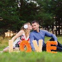 Объёмные буквы для Love story