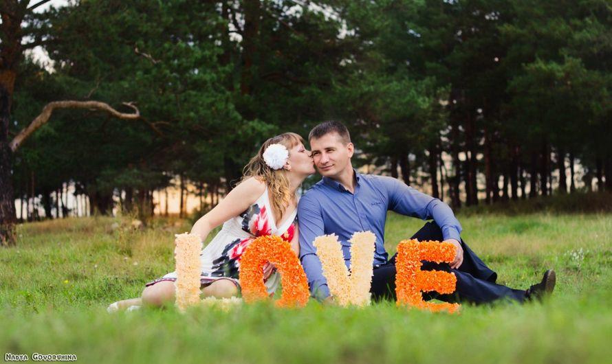 """Объёмные буквы для Love story - фото 2927625 """"Фантазия"""" - творческая студия Марины Фоминой"""