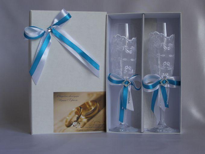 Упаковка для бокалов своими руками