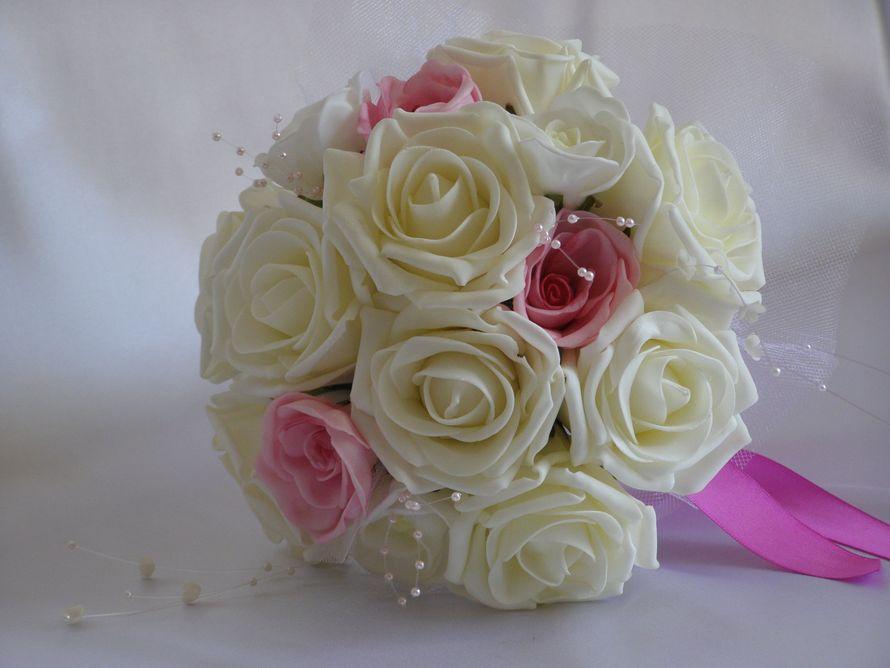 Букет из искусственных цветов для невесты своими руками