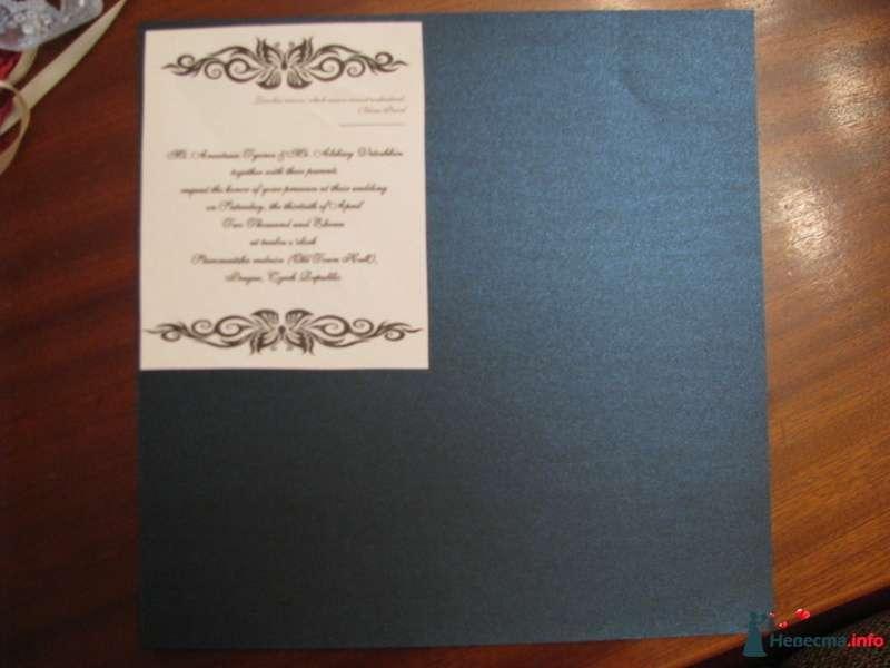Фото 209299 в коллекции Как сделать свадебные приглашения - NasTyomka