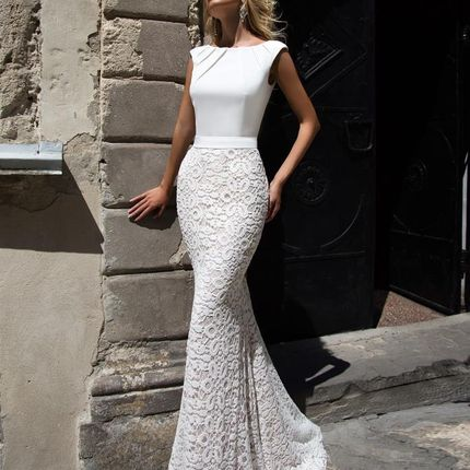 Свадебное платье Андреа Оксаны Мухи