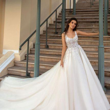 Свадебное платье Карвен от Кутюр Кристал Дизайн