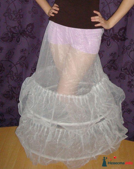 2 кольца+ оборки из жёского фатина - фото 125381 Платье для Золушки - прокат свадебных платьев