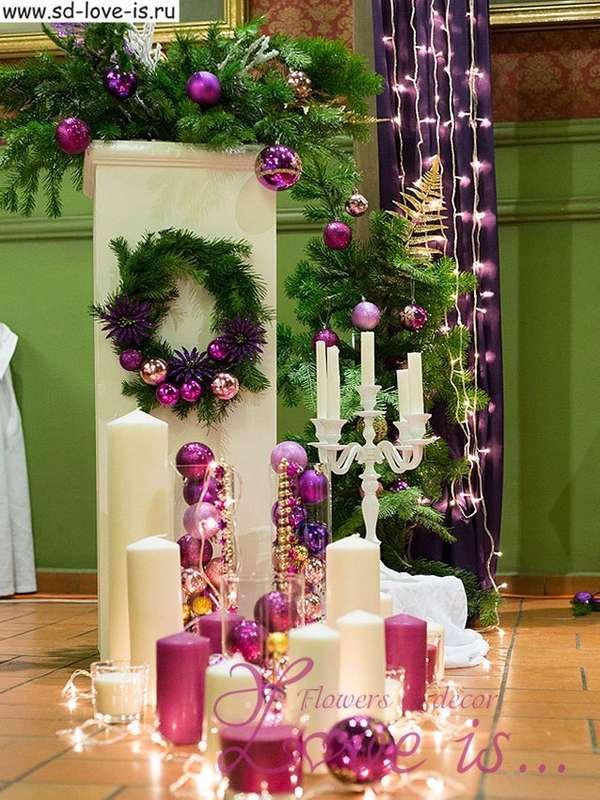 Фото 13487662 в коллекции Новогодняя свадьба – создаем настроение! - Студия декорирования Love is...