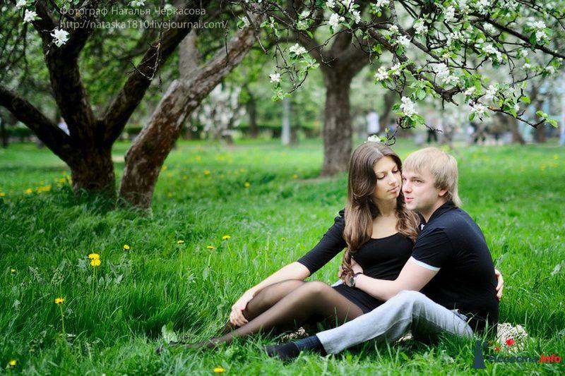 Фото 97304 в коллекции Инара (Inessa18) и Алексей в яблоневом саду