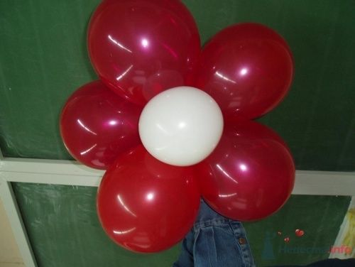Фото 11478 в коллекции Как  украсить зал шариками самостоятельно - Невеста01