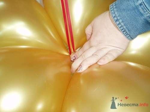 Фото 11479 в коллекции Как  украсить зал шариками самостоятельно - Невеста01