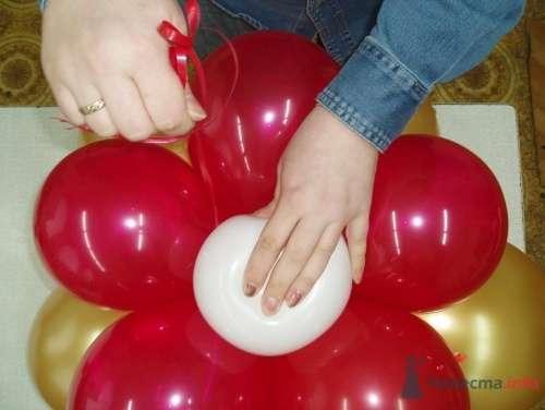 Фото 11483 в коллекции Как  украсить зал шариками самостоятельно - Невеста01
