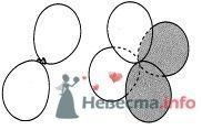 Фото 11697 в коллекции Как  украсить зал шариками самостоятельно - Невеста01