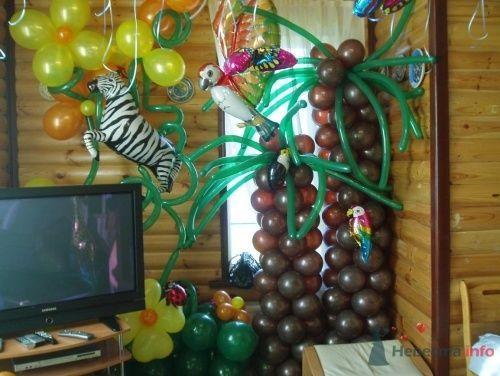 Фото 15563 в коллекции Как  украсить зал шариками самостоятельно - Невеста01