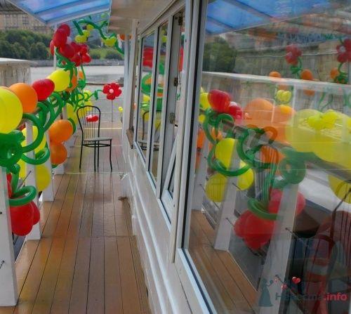 Фото 16366 в коллекции Как  украсить зал шариками самостоятельно - Невеста01