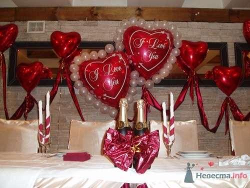 Фото 16371 в коллекции Как  украсить зал шариками самостоятельно - Невеста01
