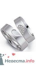 Фото 9093 в коллекции Обручальные кольца из белого золота - Интернет-магазин Miagold