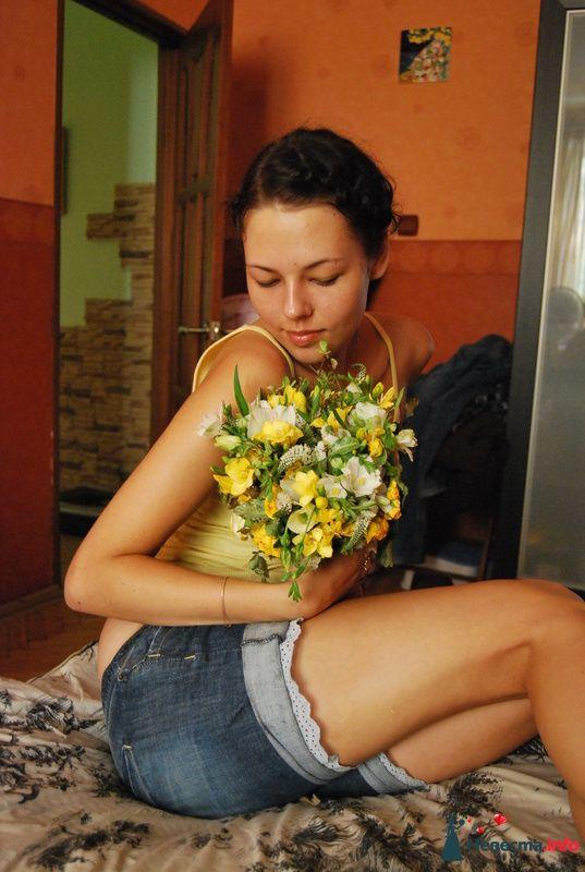 поймала букет подруги на свадьбе! - фото 131540 Невеста01