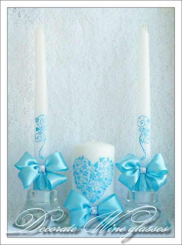 Свечи для родителей на свадьбу своими руками