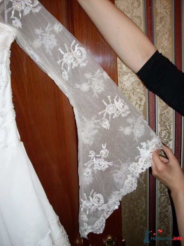 Корсажное платье TO BE BRIDE - кружевной рукавчик - фото 112345 Дмитрий Агапов