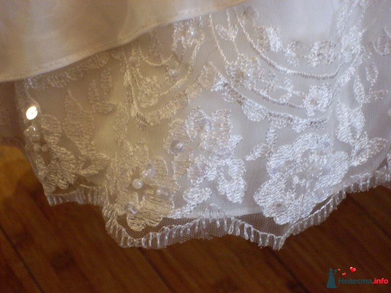 Корсажное платье TO BE BRIDE - подол