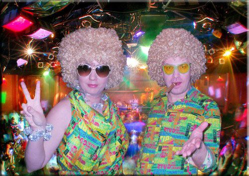 "Программа ""Диско"" - фото 938815 Дуэт ведущих Валерий и Анна"