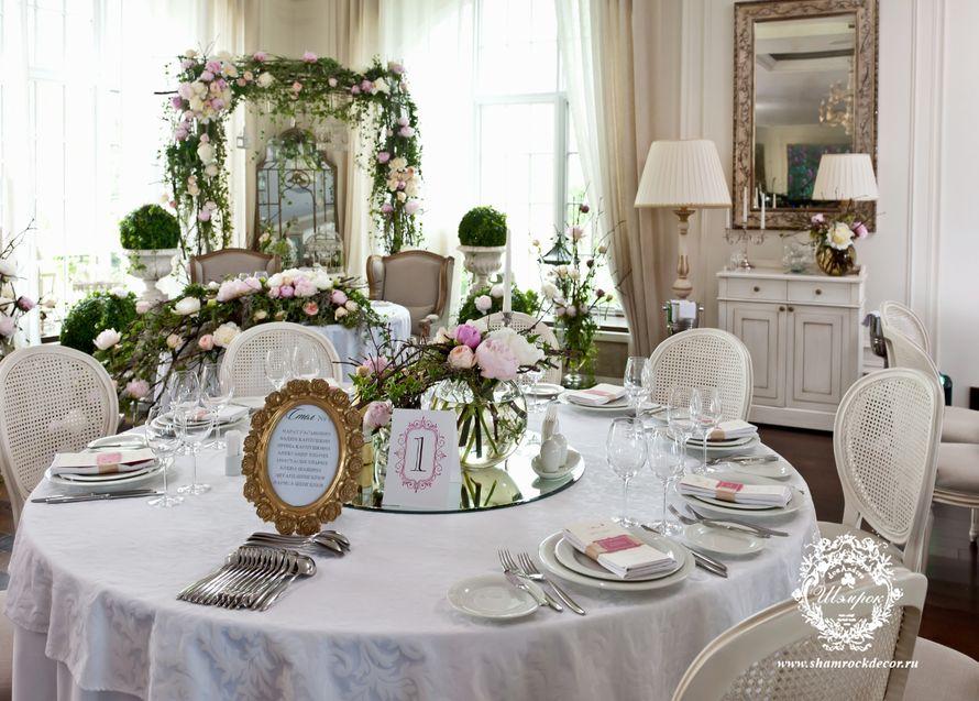 Свадьба в английском стиле декор