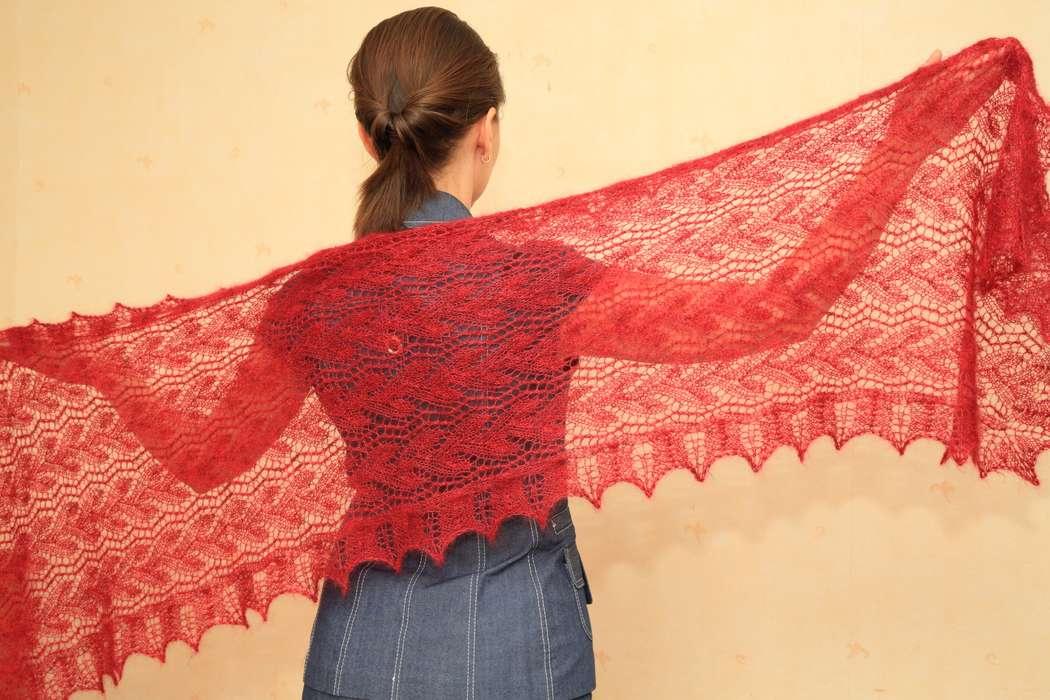 Фото 998477 в коллекции Палантины - Екатерина Гусева - палантины, накидки и шали