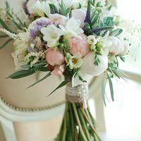 Букет невесты на свадьбу в стиле Прованс