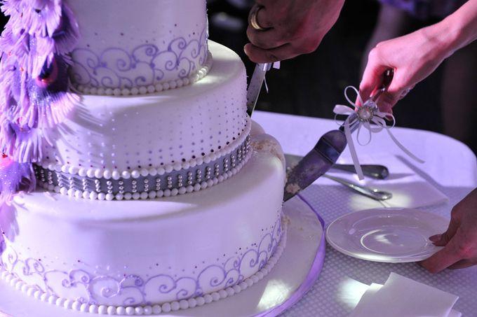 Фото со свадьбы с нашим тортом - кондитерская Марии Маковецкой.