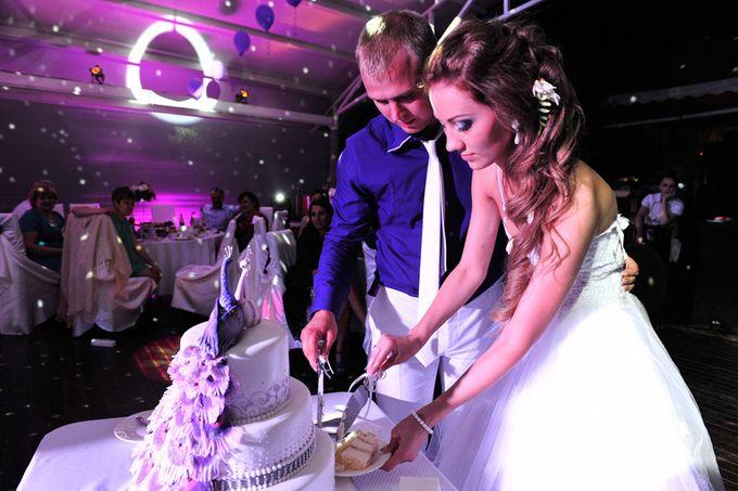 Свадебный торт кондитерской Свит Мэри на свадьбе заказчиков.